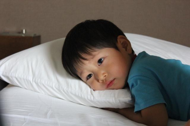 眠れない子ども