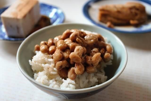 納豆かけご飯