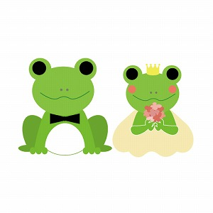 カエルの結婚