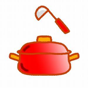 スープ調理中