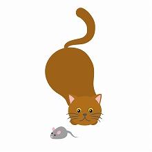 窮鼠猫を噛む