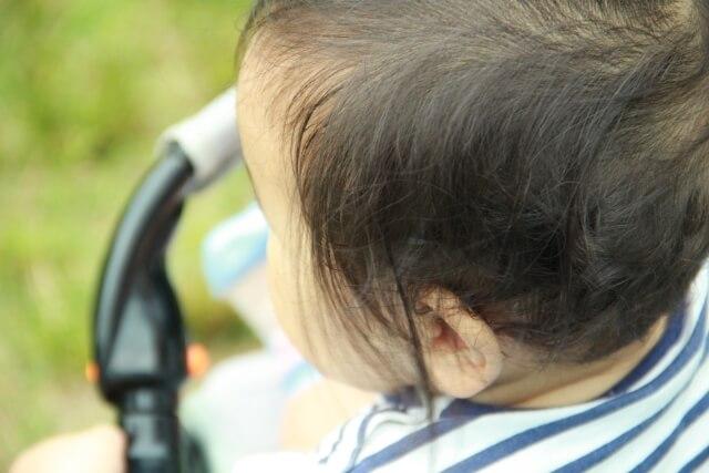 赤ちゃん産毛