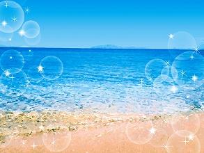 海で天日干し