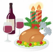 クリスマスの料理