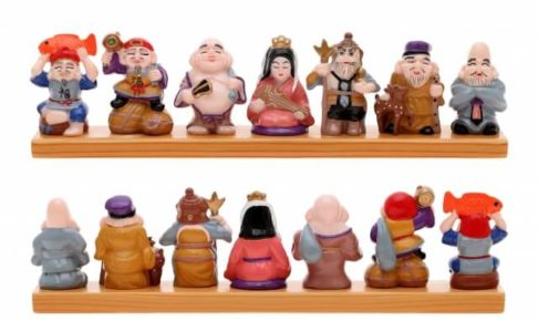 七福神並び方