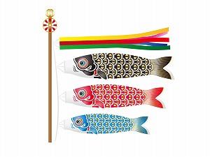 鯉のぼりの矢車