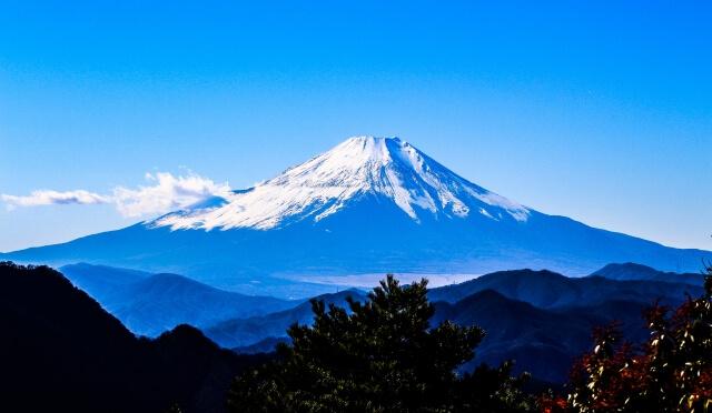 日本ならではの富士山